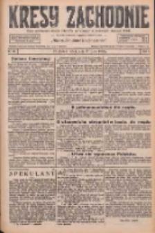 Kresy Zachodnie: pismo poświęcone obronie interesów narodowych na zachodnich ziemiach Polski 1926.07.17 R.4 Nr161