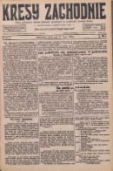 Kresy Zachodnie: pismo poświęcone obronie interesów narodowych na zachodnich ziemiach Polski 1926.07.21 R.4 Nr164