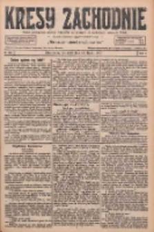 Kresy Zachodnie: pismo poświęcone obronie interesów narodowych na zachodnich ziemiach Polski 1926.07.22 R.4 Nr165