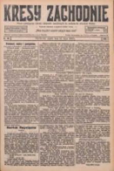 Kresy Zachodnie: pismo poświęcone obronie interesów narodowych na zachodnich ziemiach Polski 1926.07.23 R.4 Nr166
