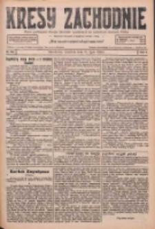 Kresy Zachodnie: pismo poświęcone obronie interesów narodowych na zachodnich ziemiach Polski 1926.07.25 R.4 Nr168