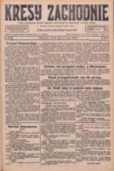 Kresy Zachodnie: pismo poświęcone obronie interesów narodowych na zachodnich ziemiach Polski 1926.07.27 R.4 Nr169