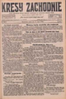 Kresy Zachodnie: pismo poświęcone obronie interesów narodowych na zachodnich ziemiach Polski 1926.07.28 R.4 Nr170