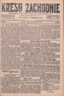 Kresy Zachodnie: pismo poświęcone obronie interesów narodowych na zachodnich ziemiach Polski 1926.07.30 R.4 Nr172