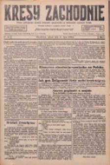Kresy Zachodnie: pismo poświęcone obronie interesów narodowych na zachodnich ziemiach Polski 1926.07.31 R.4 Nr173