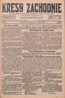 Kresy Zachodnie: pismo poświęcone obronie interesów narodowych na zachodnich ziemiach Polski 1926.08.05 R.4 Nr177