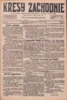 Kresy Zachodnie: pismo poświęcone obronie interesów narodowych na zachodnich ziemiach Polski 1926.08.08 R.4 Nr180