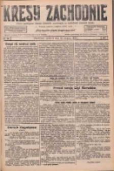 Kresy Zachodnie: pismo poświęcone obronie interesów narodowych na zachodnich ziemiach Polski 1926.08.12 R.4 Nr183