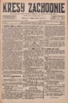 Kresy Zachodnie: pismo poświęcone obronie interesów narodowych na zachodnich ziemiach Polski 1926.08.13 R.4 Nr184
