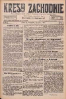 Kresy Zachodnie: pismo poświęcone obronie interesów narodowych na zachodnich ziemiach Polski 1926.08.14 R.4 Nr185