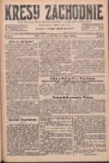 Kresy Zachodnie: pismo poświęcone obronie interesów narodowych na zachodnich ziemiach Polski 1926.08.19 R.4 Nr189