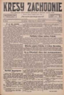 Kresy Zachodnie: pismo poświęcone obronie interesów narodowych na zachodnich ziemiach Polski 1926.08.21 R.4 Nr191