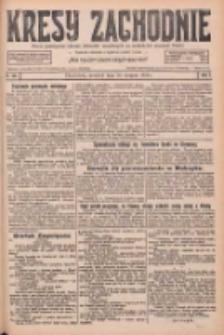 Kresy Zachodnie: pismo poświęcone obronie interesów narodowych na zachodnich ziemiach Polski 1926.08.26 R.4 Nr195