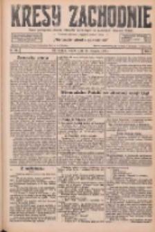 Kresy Zachodnie: pismo poświęcone obronie interesów narodowych na zachodnich ziemiach Polski 1926.08.28 R.4 Nr197