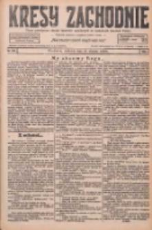 Kresy Zachodnie: pismo poświęcone obronie interesów narodowych na zachodnich ziemiach Polski 1926.08.29 R.4 Nr198