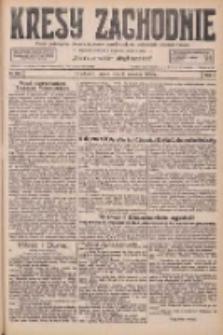 Kresy Zachodnie: pismo poświęcone obronie interesów narodowych na zachodnich ziemiach Polski 1926.09.03 R.4 Nr202