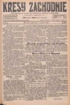 Kresy Zachodnie: pismo poświęcone obronie interesów narodowych na zachodnich ziemiach Polski 1926.09.08 R.4 Nr206