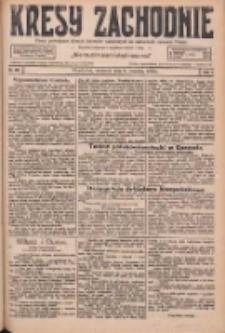 Kresy Zachodnie: pismo poświęcone obronie interesów narodowych na zachodnich ziemiach Polski 1926.09.09 R.4 Nr207