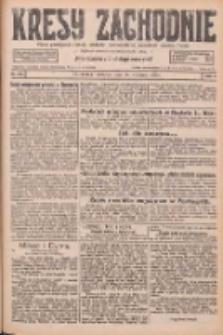 Kresy Zachodnie: pismo poświęcone obronie interesów narodowych na zachodnich ziemiach Polski 1926.09.16 R.4 Nr213