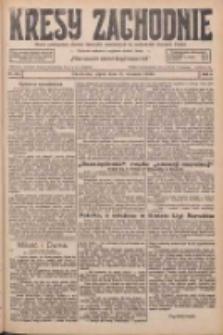 Kresy Zachodnie: pismo poświęcone obronie interesów narodowych na zachodnich ziemiach Polski 1926.09.17 R.4 Nr214
