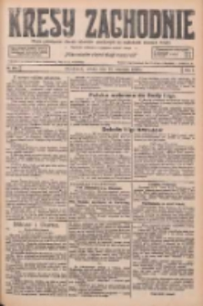 Kresy Zachodnie: pismo poświęcone obronie interesów narodowych na zachodnich ziemiach Polski 1926.09.18 R.4 Nr215