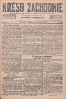 Kresy Zachodnie: pismo poświęcone obronie interesów narodowych na zachodnich ziemiach Polski 1926.09.19 R.4 Nr216