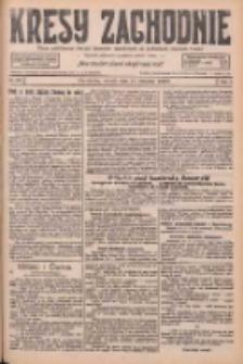 Kresy Zachodnie: pismo poświęcone obronie interesów narodowych na zachodnich ziemiach Polski 1926.09.21 R.4 Nr217