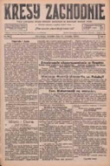 Kresy Zachodnie: pismo poświęcone obronie interesów narodowych na zachodnich ziemiach Polski 1926.09.23 R.4 Nr219
