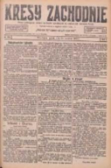 Kresy Zachodnie: pismo poświęcone obronie interesów narodowych na zachodnich ziemiach Polski 1926.09.24 R.4 Nr220