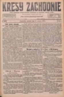 Kresy Zachodnie: pismo poświęcone obronie interesów narodowych na zachodnich ziemiach Polski 1926.09.26 R.4 Nr222