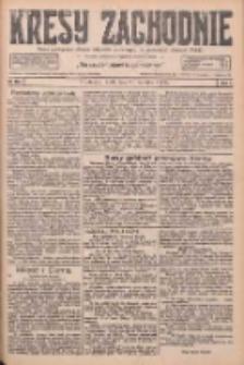 Kresy Zachodnie: pismo poświęcone obronie interesów narodowych na zachodnich ziemiach Polski 1926.09.29 R.4 Nr224
