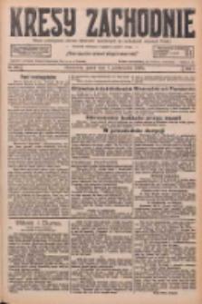 Kresy Zachodnie: pismo poświęcone obronie interesów narodowych na zachodnich ziemiach Polski 1926.10.01 R.4 Nr226