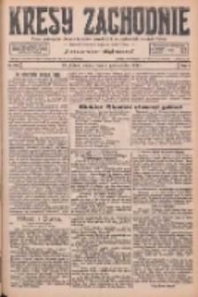 Kresy Zachodnie: pismo poświęcone obronie interesów narodowych na zachodnich ziemiach Polski 1926.10.05 R.4 Nr229