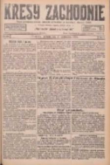 Kresy Zachodnie: pismo poświęcone obronie interesów narodowych na zachodnich ziemiach Polski 1926.10.10 R.4 Nr234