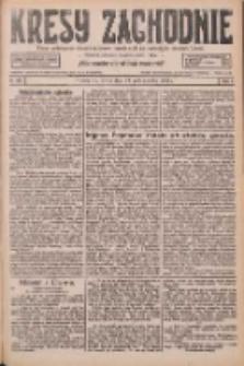 Kresy Zachodnie: pismo poświęcone obronie interesów narodowych na zachodnich ziemiach Polski 1926.10.13 R.4 Nr236