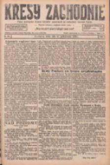 Kresy Zachodnie: pismo poświęcone obronie interesów narodowych na zachodnich ziemiach Polski 1926.10.20 R.4 Nr242