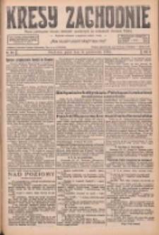 Kresy Zachodnie: pismo poświęcone obronie interesów narodowych na zachodnich ziemiach Polski 1926.10.22 R.4 Nr244