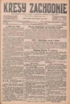 Kresy Zachodnie: pismo poświęcone obronie interesów narodowych na zachodnich ziemiach Polski 1926.11.03 R.4 Nr253