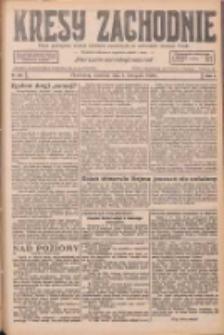 Kresy Zachodnie: pismo poświęcone obronie interesów narodowych na zachodnich ziemiach Polski 1926.11.04 R.4 Nr254