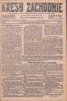 Kresy Zachodnie: pismo poświęcone obronie interesów narodowych na zachodnich ziemiach Polski 1926.11.05 R.4 Nr255