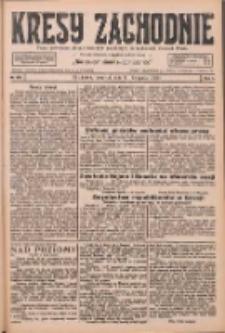 Kresy Zachodnie: pismo poświęcone obronie interesów narodowych na zachodnich ziemiach Polski 1926.11.11 R.4 Nr260