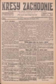 Kresy Zachodnie: pismo poświęcone obronie interesów narodowych na zachodnich ziemiach Polski 1926.11.13 R.4 Nr262