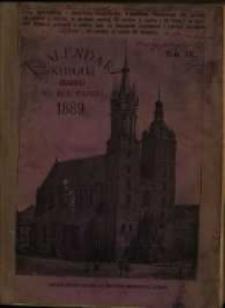 Kalendarz Katolicki Krakowski na Rok Pański 1889.