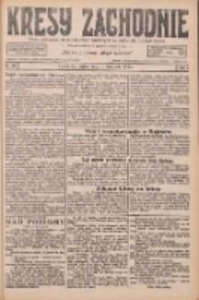 Kresy Zachodnie: pismo poświęcone obronie interesów narodowych na zachodnich ziemiach Polski 1926.11.19 R.4 Nr267