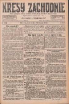 Kresy Zachodnie: pismo poświęcone obronie interesów narodowych na zachodnich ziemiach Polski 1926.11.21 R.4 Nr269