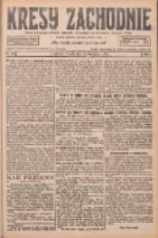 Kresy Zachodnie: pismo poświęcone obronie interesów narodowych na zachodnich ziemiach Polski 1926.11.23 R.4 Nr270