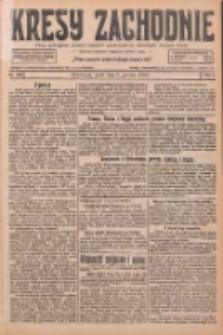 Kresy Zachodnie: pismo poświęcone obronie interesów narodowych na zachodnich ziemiach Polski 1926.12.08 R.4 Nr283