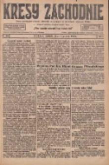 Kresy Zachodnie: pismo poświęcone obronie interesów narodowych na zachodnich ziemiach Polski 1926.12.19 R.4 Nr292