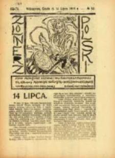 Żołnierz Polski : pismo poświęcone czynowi i doli żołnierza polskiego. R.1 1919 nr32