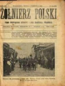 Żołnierz Polski : pismo poświęcone czynowi i doli żołnierza polskiego. R.3 1921 nr33